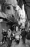 Shatila, UNRWA camp. One of the main streets of the camp.<br />  <br /> Chatila, camp de l'UNRWA. Une des rues principales du camp.