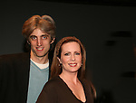 Zak Berkman & Martha Byrne at the ATWT reunion to benefit Epic Theatre Ensemble after-school Bridge Projects - As The Epic Turns - on April 17 & 18, 2009 at The Peter Jay Sharp Theatre, NYC. (Photo by Sue Coflin/Max Photos)