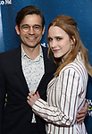 "Jason Ralph and Rachel Brosnahan attending the Broadway Opening Night Performance of  ""What The Constitution Means To Me"" at the Hayes Theatre on March 31, 2019 in New York City."