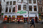 """BRUSSELS - BELGIUM - 16 December 2019 --  Restaurant """"Chez Léon"""" with a concept of serving """"Mussels and Fries"""", was established in 1893 in Brussels. It is the largest restaurant in the country in terms of turnover, number of customers and staff. -- PHOTO: Juha ROININEN / EUP-IMAGES"""