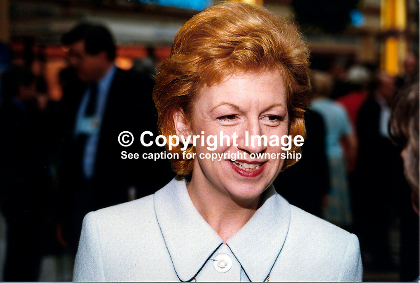 Eleanor Laing, MP, Conservative Party, Britain, UK, 19971037EL..Copyright Image from Victor Patterson, 54 Dorchester Park, Belfast, UK, BT9 6RJ..Tel: +44 28 9066 1296.Mob: +44 7802 353836.Voicemail +44 20 8816 7153.Skype: victorpattersonbelfast.Email: victorpatterson@mac.com.Email: victorpatterson@ireland.com (back-up)..IMPORTANT: If you wish to use this image or any other of my images please go to www.victorpatterson.com and click on the Terms & Conditions. Then contact me by email or phone with the reference number(s) of the image(s) concerned.