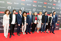 "Adrian Lastra, Ernesto Alterio, Leticia Dolera, Enrique Cerezo, Manuela Carmena, Maggie Civantos, Juan Pablo Shuk, Natalia de Molina and Asier Etxerandia attends to the presentation of the ""Premios Platino"" at Palacio de Cristal in Madrid. April 07, 2017. (ALTERPHOTOS/Borja B.Hojas) (NortePhoto.com)"