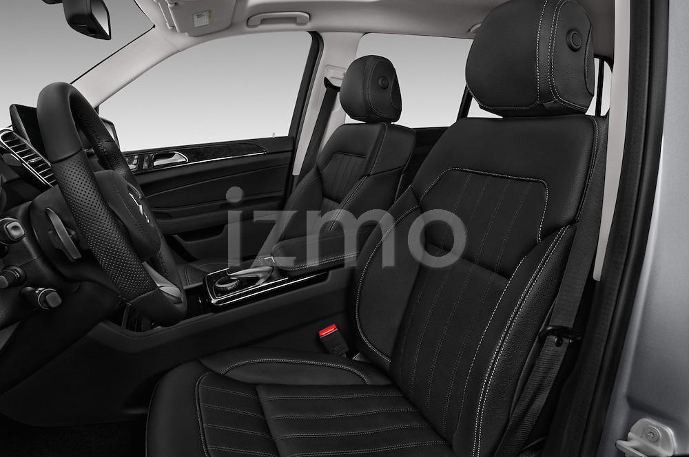 Front seat view of 2018 Mercedes Benz GLS-Class GLS450 5 Door SUV Front Seat  car photos