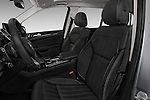 Front seat view of 2017 Mercedes Benz GLS-Class GLS450 5 Door SUV Front Seat  car photos