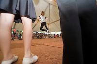 4H Cloggers, dancing at the Burlington County Farm Fair, Lumberton, New Jersey