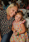 Quinn Franklin and Susanna Lane Fegen,4, at the M.D. Anderson Back-to-School Fashion Show at the Galleria Saturday Aug. 16, 2014.(Dave Rossman photo)