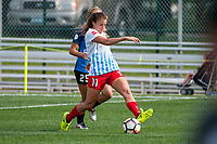 Kansas City, MO - Saturday September 9, 2017: Sofia Huerta during a regular season National Women's Soccer League (NWSL) match between FC Kansas City and the Chicago Red Stars at Children's Mercy Victory Field.