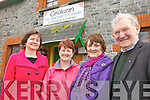 FÉILE TIME: Members of Lixnaw Comhaltas Branch preparing for their annual Féile Feabhra at the Ceolann centre, l-r: Liz O'Keeffe, Bridie Stack, Mary Dennehy, Pat Joe Dennehy.