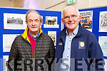 Johnny Culloty and Tadgh O'Halloran attending the ceremony honouring Dr Sean Murphy and Tommy Doyle in the Camp Community Centre on Sunday.