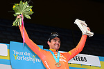 Greg Van Avermaet (BEL) CCC Team wins Stage 4 of the 2019 Tour de Yorkshire, running 175km from Halifax to Leeds, Yorkshire, England. 5th May 2019.<br /> Picture: ASO/SWPix | Cyclefile<br /> <br /> All photos usage must carry mandatory copyright credit (© Cyclefile | ASO/SWPix)