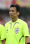 15 June 2006: Match referee Toru Kamikawa (JPN). England defeated Trinidad and Tobago 2-0 at the Frankenstadion in Nuremberg, Germany in match 19, a Group B first round game, of the 2006 FIFA World Cup.