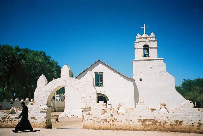 Iglesia de San Pedro de Atacama / Chile.