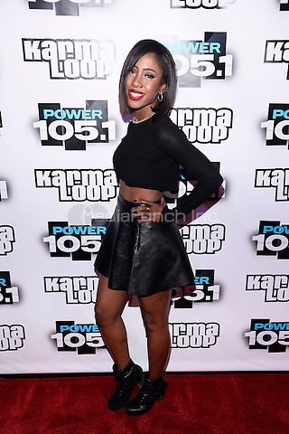 NEW YORK, NY - NOVEMBER 02: Singer Sevyn Streeter pictured at the Power 105.1's Powerhouse 2013,at Barclays Center on November 2, 2013 Brooklyn,NYCRTNPluvious / MediaPunch Inc.