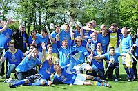 VOETBAL: LEMMER: 09-05-2013, VV Lemmer-LVV Friesland, derde klasse A, Eindstand 1-2, LVV Friesland Kampioen, ©foto Martin de Jong