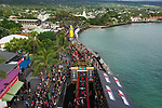 KAILUA-KONA, HI - OCTOBER 13:   The 2018 IRONMAN World Championships in Kailua-Kona, Hawaii on October 13, 2018. (Photo by Donald Miralle for IRONMAN)