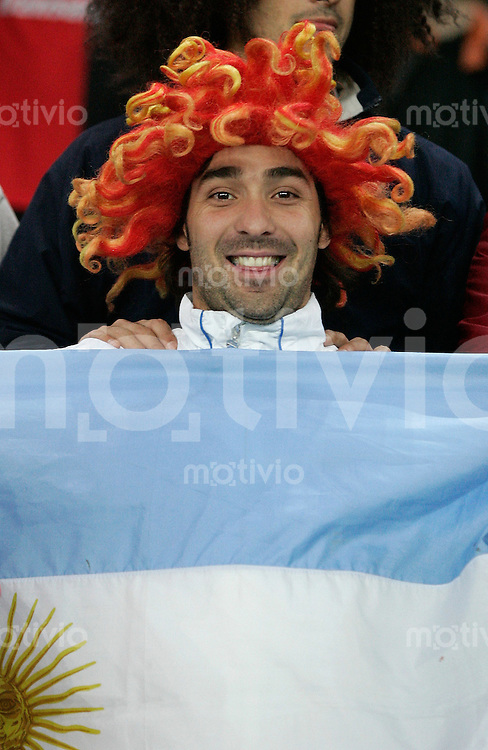 Fussball International Testspiel England 3-2 Argentinien ARG Fan