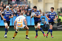 Charlie Ewels of Bath Rugby in possession. Gallagher Premiership match, between Bath Rugby and Wasps on May 5, 2019 at the Recreation Ground in Bath, England. Photo by: Patrick Khachfe / Onside Images