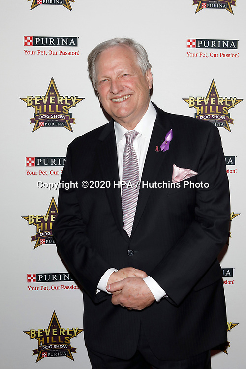 LOS ANGELES - FEB 29:  David Frei at the Beverly Hills Dog Show Presented by Purina at the LA County Fairplex on February 29, 2020 in Pomona, CA