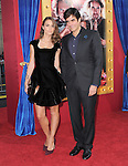 David Copperfield and Chloe Gosselin at Warner Bros. Pictures' L.A Premiere of  The Incredible Burt Wonderstone held at The Grauman's Chinese Theater in Hollywood, California on March 11,2013                                                                   Copyright 2013 Hollywood Press Agency