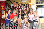 Aoibheann Cahill, Ballygarvan,Cork,, pictured with her hens as she celebrated her Hen Party in Lord Kenmares, Killarney on Saturday night.