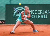 The Hague, Netherlands, 09 June, 2018, Tennis, Play-Offs Competition, Tereza Mrdeza <br /> Photo: Henk Koster/tennisimages.com