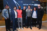 "NORTH HOLLYWOOD, CA - APRIL 8: Creator Matthew Carnahan ( from left) and cast members Steve Zahn, Lamorne Morris, John Karna, Dakota Shapiro, Oliver Cooper and Bradley Whitford attend an FYC screening and Q&A for National Geographic's ""Valley of the Boom"" at the Television Academy on April 8, 2019 in North Hollywood, California. (Photo by Vince Bucci/National Geographic/PictureGroup)"