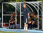 2 September 2007: Monmouth assistant coach Matt Friel. The Wake Forest University Demon Deacons defeated the Monmouth University Hawks 2-0 at Fetzer Field in Chapel Hill, North Carolina in an NCAA Division I Men's Soccer game.