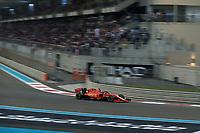 1st December 2019; Yas Marina Circuit, Abu Dhabi, United Arab Emirates; Formula 1 Abu Dhabi Grand Prix, race day; Scuderia Ferrari, Charles Leclerc - Editorial Use