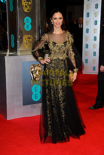 LONDON, ENGLAND - FEBRUARY 16: Georgina Chapman attends EE British Academy Film Awards in 2014  at the Royal Opera House on February 16, 2014 in London, England.<br /> CAP/CJ<br /> &copy;Chris Joseph/Capital Pictures