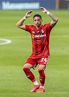 Fulham's Anthony Knockaert rues a near miss <br /> <br /> Photographer Andrew Kearns/CameraSport<br /> <br /> The EFL Sky Bet Championship - West Bromwich Albion v Fulham - Tuesday July 14th 2020 - The Hawthorns - West Bromwich <br /> <br /> World Copyright © 2020 CameraSport. All rights reserved. 43 Linden Ave. Countesthorpe. Leicester. England. LE8 5PG - Tel: +44 (0) 116 277 4147 - admin@camerasport.com - www.camerasport.com