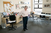 6 April 2006 - New York City, NY - Sylvia Weinstock seen in her office at Sylvia Weinstock Cakes in New York City, USA, 6 April 2006. The owner, Sylvia Weinstock is known as the queen of wedding cakes in New York.