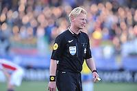 VOETBAL: LEEUWARDEN: 21-04-2016, Cambuurstadion, SC Cambuur - Willem II, uitslag 1-1, Scheidsrechter Kevin Blom, foto Martin de Jong