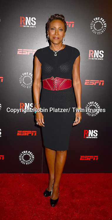 Robin Roberts attends The Paley Center for Media's Annual Benefit Dinner honoring ESPN' s 35th Anniversary on May 28, 2014 at 583 Park Avenue in New York City, NY, USA.