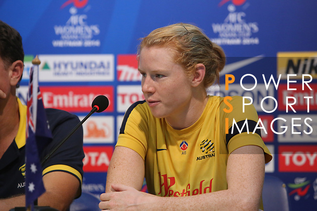 Press Conference - Japan vs Australia during the 2014 AFC Women's Asian Cup on May, 2014 at the Thống Nhất Stadium in THồ Chí Minh City, Vietnam. Photo by World Sport Group