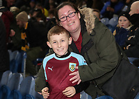 Burnley Fans at the start of todays match<br /> <br /> Photographer Rachel Holborn/CameraSport<br /> <br /> The Premier League - Burnley v Newcastle United - Monday 26th November 2018 - Turf Moor - Burnley<br /> <br /> World Copyright &copy; 2018 CameraSport. All rights reserved. 43 Linden Ave. Countesthorpe. Leicester. England. LE8 5PG - Tel: +44 (0) 116 277 4147 - admin@camerasport.com - www.camerasport.com