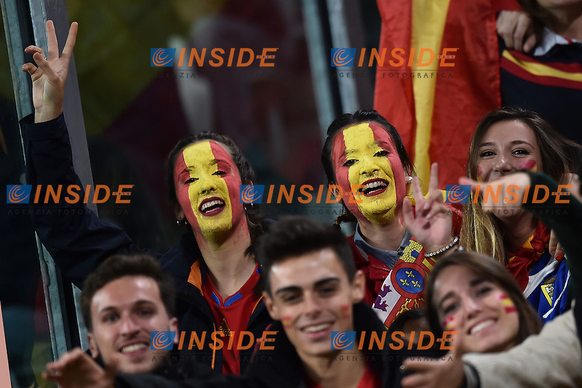 Tifose Spagna Supporters <br /> Torino 06-10-2016 Juventus Stadium <br /> World Cup Qualifiers Italy - Spain / Italia - Spagna. Foto Andrea Staccioli / Insidefoto