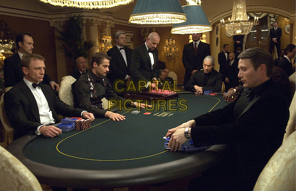 DANIEL CRAIG & MADS MIKKELSEN.in Casino Royale.*Editorial Use Only*.Ref: FB.www.capitalpictures.com.sales@capitalpictures.com.Supplied by Capital Pictures.