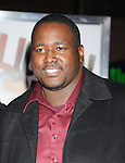 "HOLLYWOOD, CA. - January 11: Quinton Aaron attends the ""The Book Of Eli"" Los Angeles Premiere at Grauman's Chinese Theatre on January 11, 2010 in Hollywood, California."
