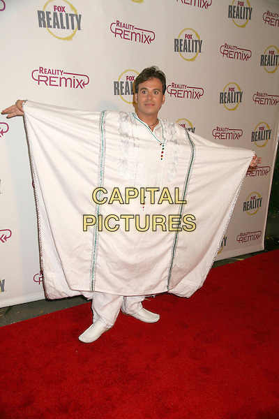 """ANT.Fox Reality Presents """"The Reality Remix Really Awards"""" - Arrivals held at Les Deux, Hollywood, California, USA..October 24th, 2006.Ref: ADM/BP.full length white robe arms outstretched.www.capitalpictures.com.sales@capitalpictures.com.©Byron Purvis/AdMedia/Capital Pictures."""