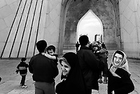 Teheran, Iran, March 31, 2007.The Azadi National Monument is a popular site for Iranian tourists visiting the capital, it houses a museum and offers spectacular views from the sprawling megalopole..