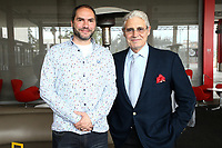 "LOS ANGELES - APRIL 15: Mathias Herndl and Michael Nouri attends a dinner and conversation celebrating the premiere of National Geographic's ""Genius: Picasso"" at Ray's and Stark Bar LACMA on April 15, 2018 in Los Angeles, California. (Photo by John Salangsang/NatGeo/PictureGroup)"