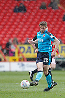 Jack Sowerby of Fleetwood Town during the Sky Bet League 1 match between Charlton Athletic and Fleetwood Town at The Valley, London, England on 17 March 2018. Photo by Carlton Myrie.