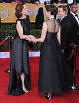 Sigourney Weaver and Anne Hathaway at 19th Annual Screen Actors Guild Awards® at the Shrine Auditorium in Los Angeles, California on January 27,2013                                                                   Copyright 2013 Hollywood Press Agency