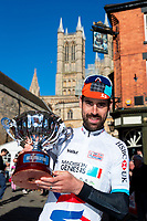 Picture by Alex Whitehead/SWpix.com - 13/05/2018 - British Cycling - HSBC UK Spring Cup Series - Lincoln Grand Prix - Johnny McEvoy of Madison Genesis wins the Spring Cup.