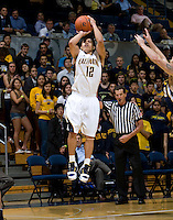 Brandon Smith of California shoots the ball during the game at Haas Pavilion in Berkeley, California on November 1st, 2011.  California defeated San Diego, 88-53.