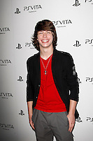 LOS ANGELES, CA - FEB 15: Evan Hofer at the Sony PlayStationAE Unveils PS VITA Portable Entertainment System at Siren Studios on February 15, 2012 in Los Angeles, California