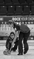 Glasgow. SCOTLAND.  &quot;Round Robin&quot; Game. Le Gruy&egrave;re European Curling Championships. 2016 Venue, Braehead  Scotland<br /> Thursday  24/11/2016<br /> <br /> [Mandatory Credit; Peter Spurrier/Intersport-images]