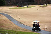 NWA Democrat-Gazette/FLIP PUTTHOFF <br />Golfers play Tuesday Nov. 26 2019 at the Kingswood course in Bella Vista. A second vote on an assessment increase will be held next month.