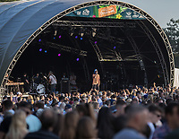 Reef perform at AmpRocks during AmpFest at Ampthill Great Park, Ampthill, England on 29 June 2018. Photo by David Horn.