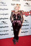 Singer Najwa Nimri attends the 2013 Rolling Stone Awards ceremony photocell at Kapital theater in Madrid, Spain. November 28, 2013. (ALTERPHOTOS/Victor Blanco)
